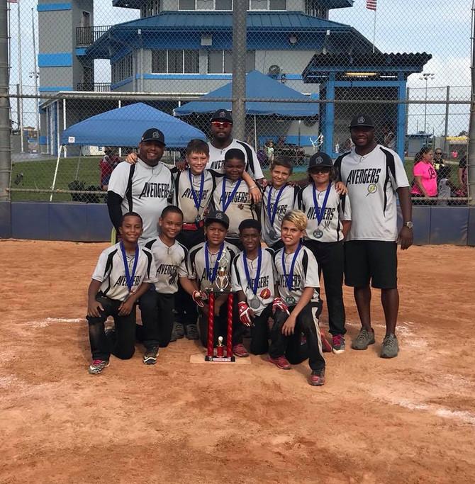 11U Avengers CFL Fall Championship Runner-up