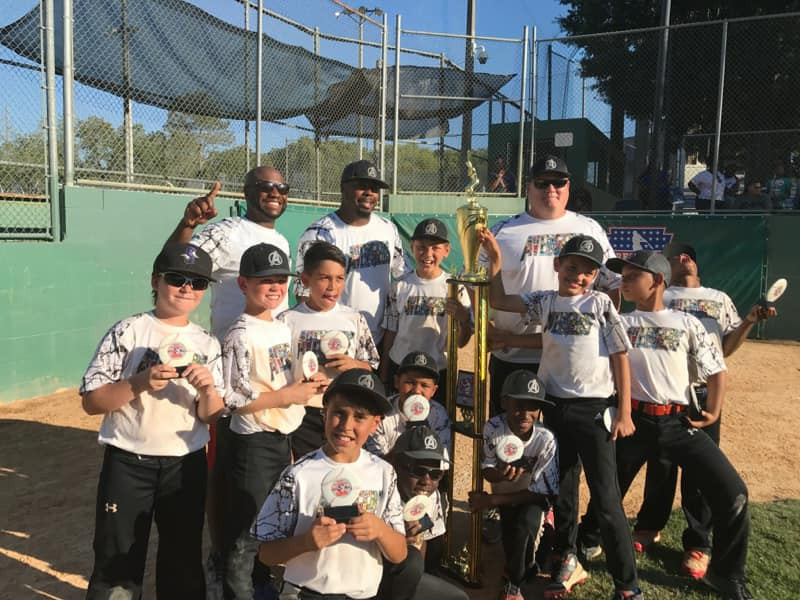 Lead by Head Coach JonPaul Reed, the 10U Avengers played extra innings in a Texas Tie Breaker in the Semi-Championship to win 8-7 and then won the Championship 15-2