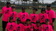 11U Avengers USSSA 'Swing for a Cure'