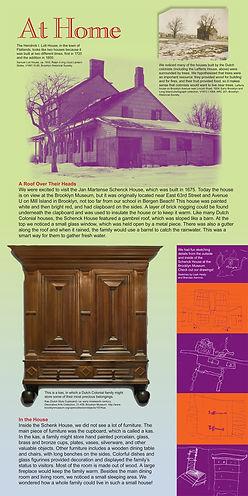 graphic design, exhibit graphics, exhibit design, Colonial Brooklyn, history, public school, school program, PS 312