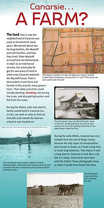 graphic design, exhibit graphics, exhibit design, Brooklyn, history, historical map, public school, school program, PS 276