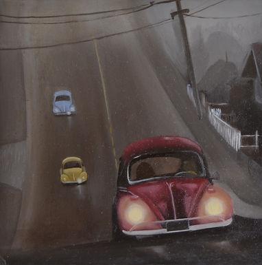 VW Foggy Ride