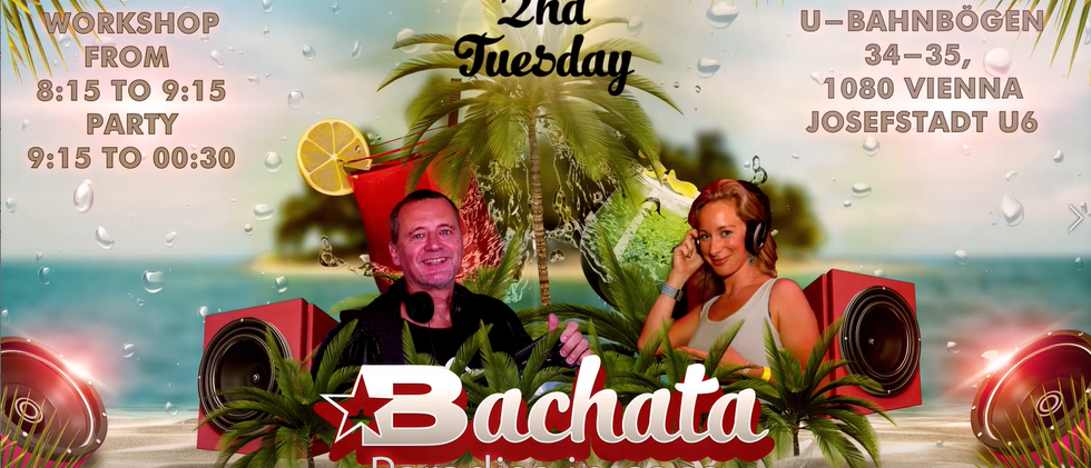 every 2nd Tuesday bachata party