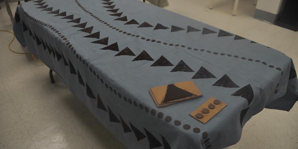Block Printing Textile Workshop by Monique De LaTour