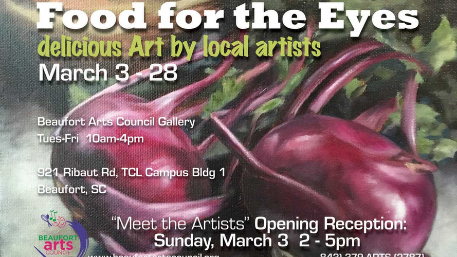 Food for the Eyes (March Gallery Show