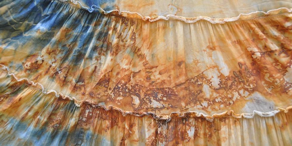 Rust-Dyeing Textile Workshop by Monique De LaTour