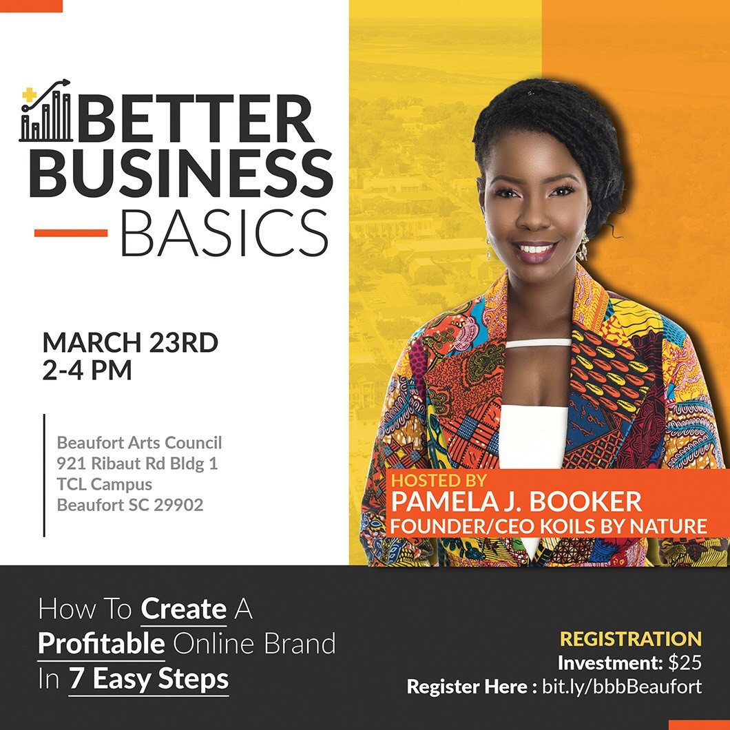 Better Business Basics with Pamela J. Booker is an interactive class for businesses wanting to grow; she will provide tips and strategies to help the novice and season entrepreneurs reach new heights in business.