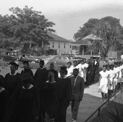 Historical Mather School Graduation