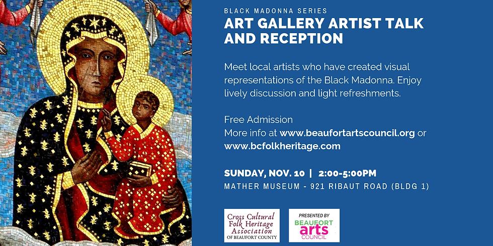 The Black Madonna Series: Art Gallery Artist Talk and Reception