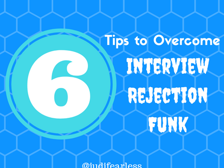 6 Tips to Overcome Interview Rejection Funk