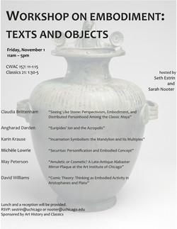Classics & Art History Workshop 2019