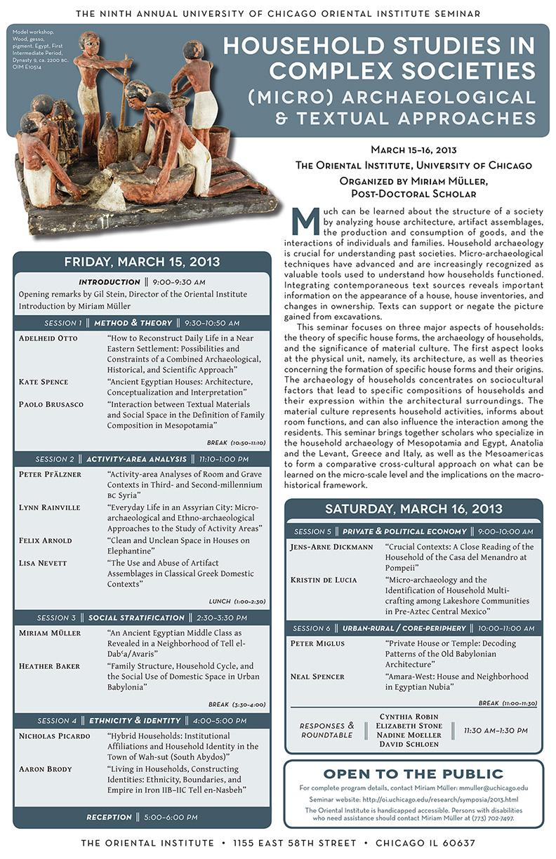 Household Studies 2013