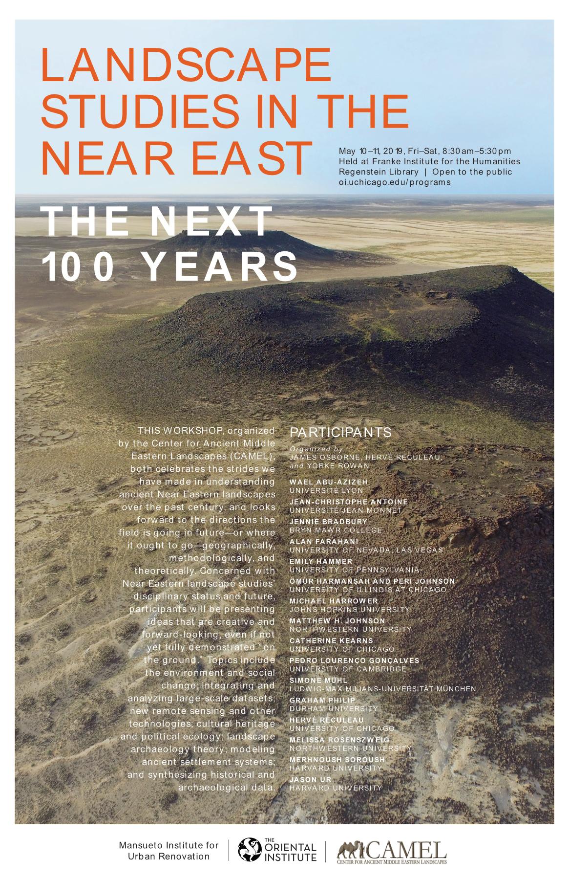 Landscape Studies in the Near East
