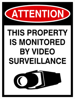 Attention This property is monitored by video surveillance
