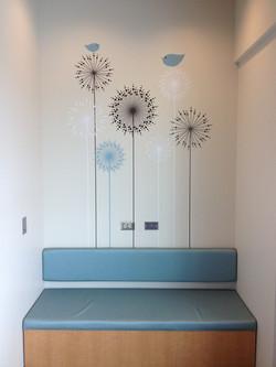 Hopsital Waiting Room bench