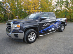 Browns wrap finsihed gmc pickup (1)