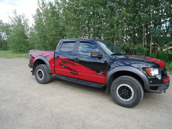 Ford Raptor shelby decals (2)