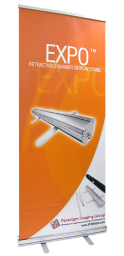 expo roll up banner stand