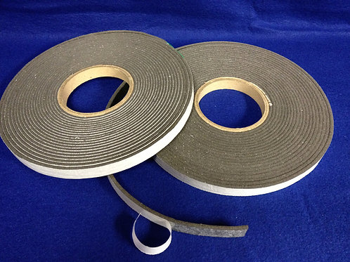 Black Ceramic Free Glazing Tape