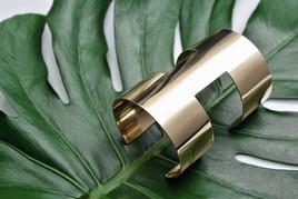 Bracelet on a palm leaf