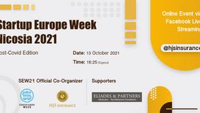 HJS Insurance organizes Startup Europe Week Nicosia 2021