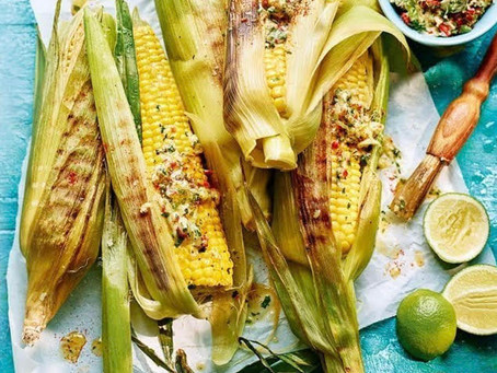 Corn on the Con with Cheese & Chilli Butter