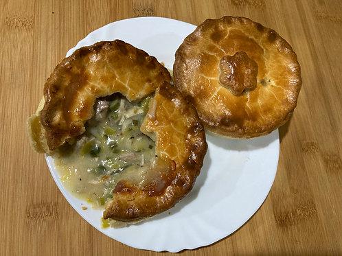 Turkey & Leek pies
