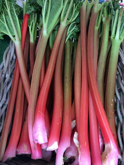 Locally grown New Season Rhubarb 1kg