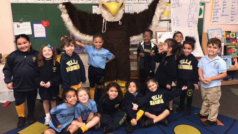 Eagle's Visit