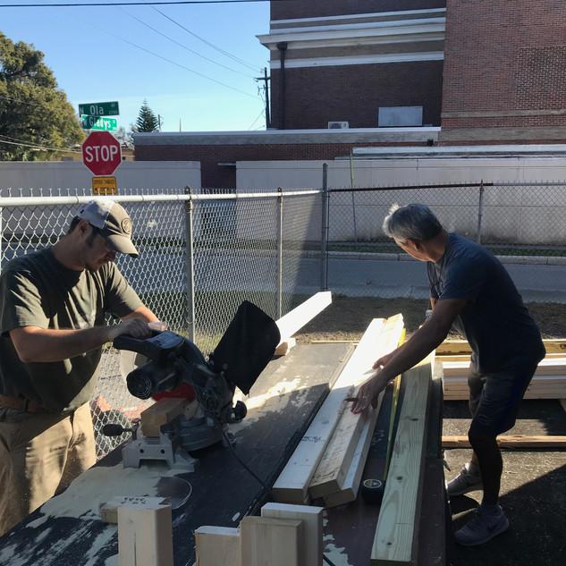 School Play Build Day