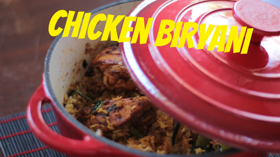 Shortcut Chicken Biryani