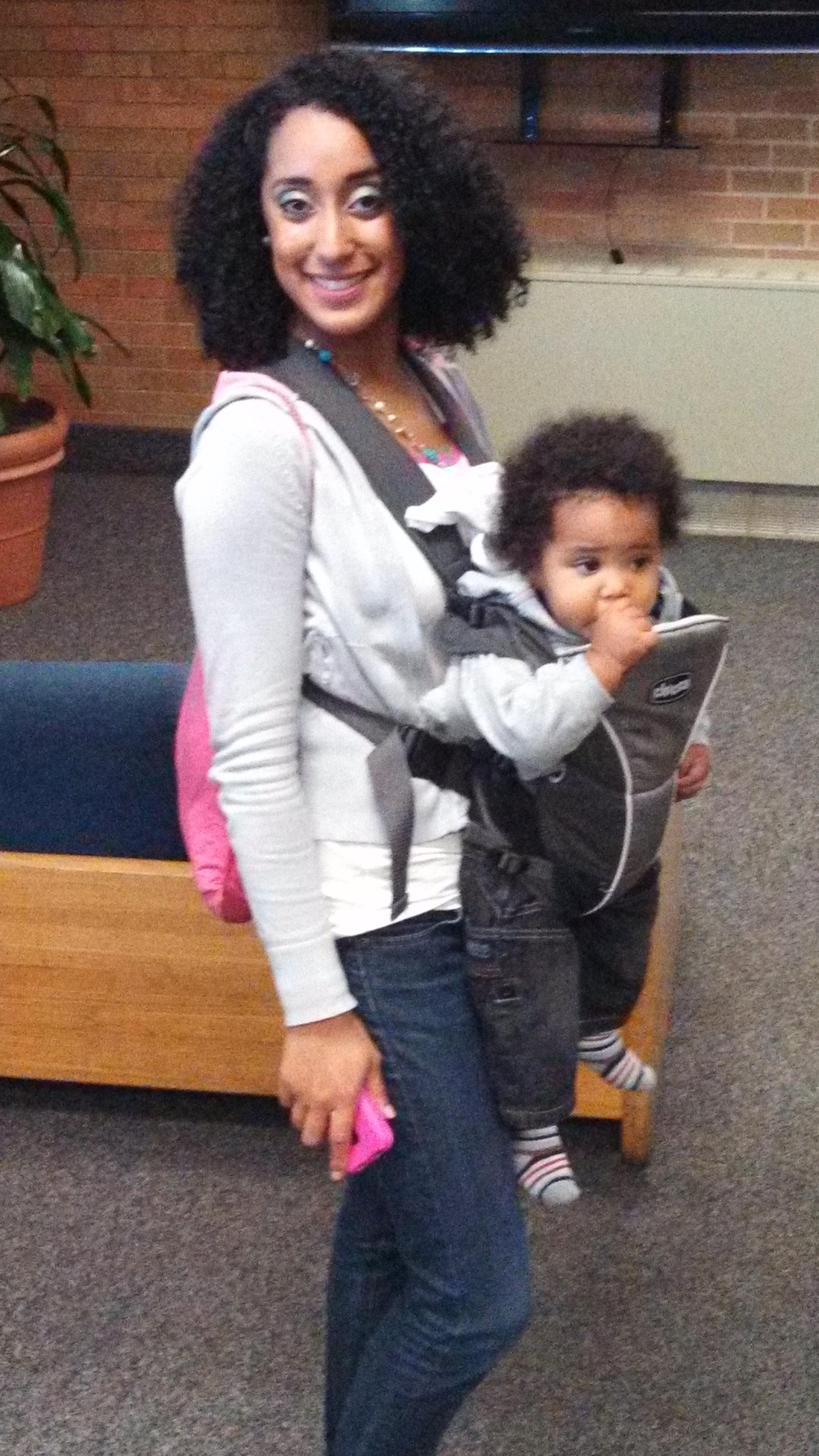 Mrs. Chrystal & Baby Josh