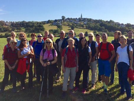 Mehrtageswanderung im September rund um Hirschberg     14.-15.09.2019