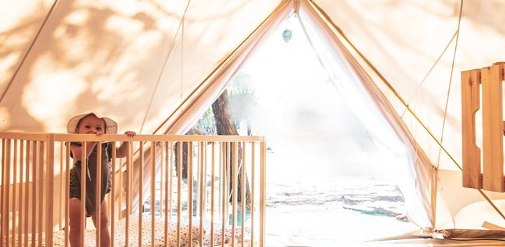 family tipi family surf camp