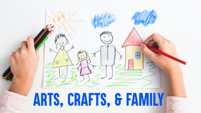 Making simple art and craft is a great way to spend time with your child