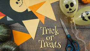 Halloween decors help brings out the trick or treat spirit during the pandemic