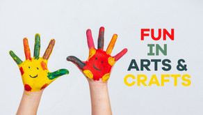Nurturing your child's imagination with arts and crafts