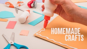Decorating kids craft in your home