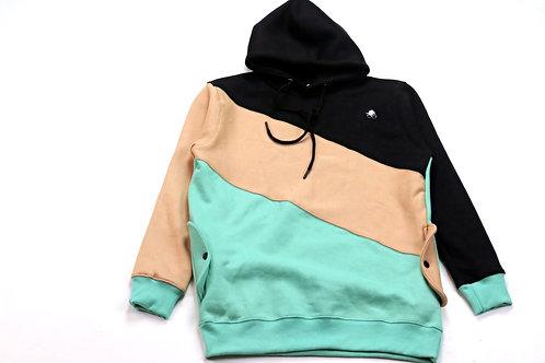 Color Blocked Cozy Fleece Set [top]
