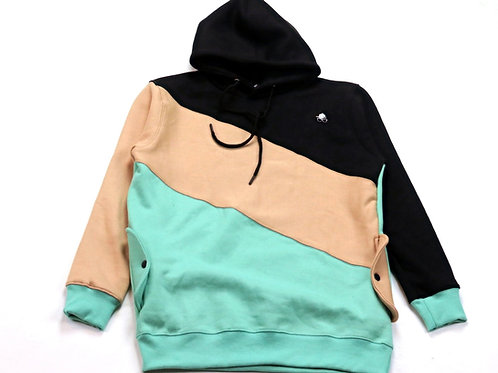 Norwich Color Blocked Pullover Hoodie | Set [top]