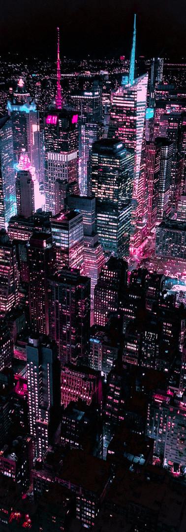 NYC Skyline Blade Runner New York Photog