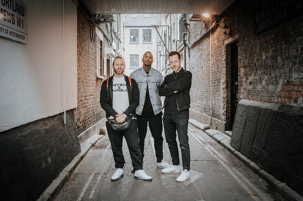 Chase and Status Promo Shots London Phot
