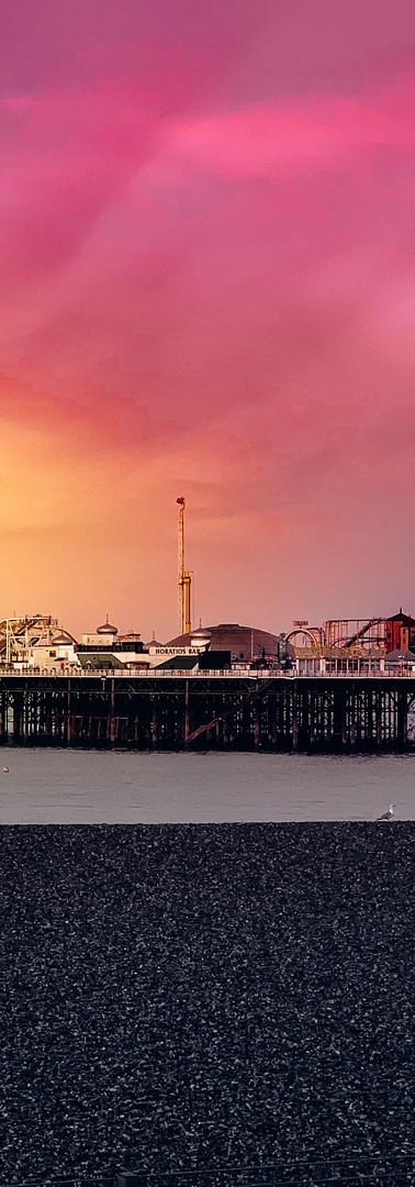 Brighton sunrise photography