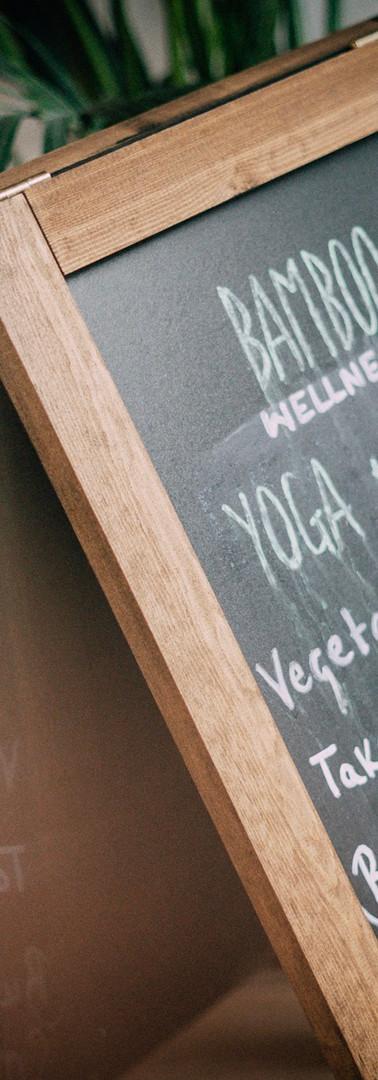 Bamboo Wellness Yoga Café Wandsworth