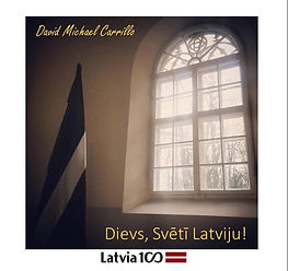 Dievs, svētī Latviju! CD cover (2018_10_