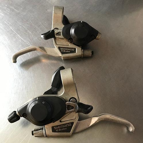 Shimano V brake shifters