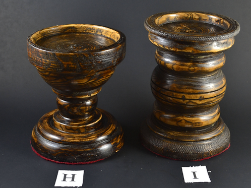 Medieval Candle Holder/Rustic Candle Holders/Feastware/Pillar Candle