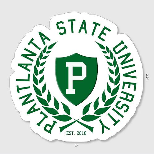 Plantlanta State University Sticker