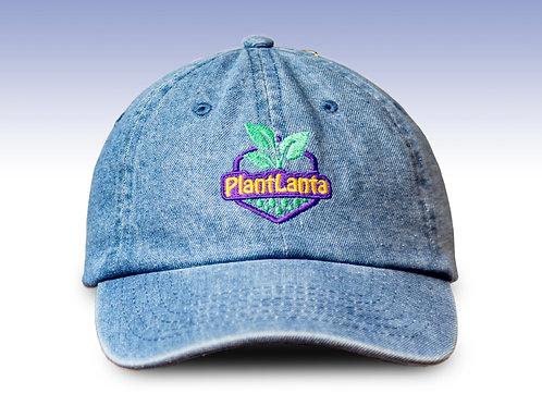 "Plantlanta Logo Denim ""Dad"" Hat"