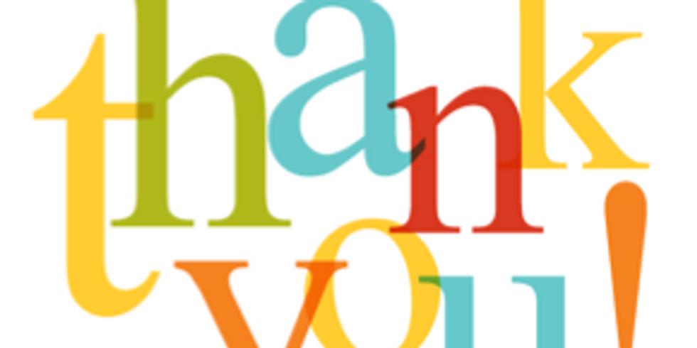Volunteer Appreciation Party - CANCELLED